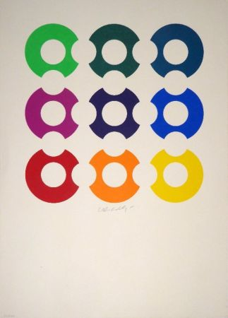 Serigrafia Vasarely - Untitled