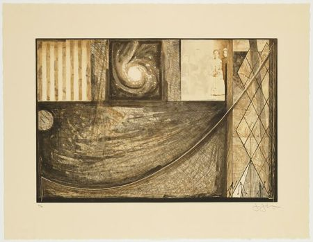 Incisione Johns - Untitled