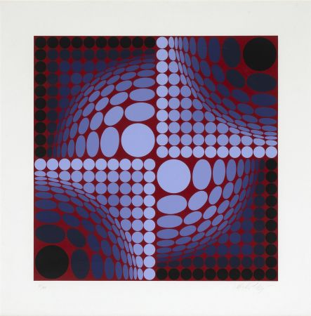 Serigrafia Vasarely - Untitled