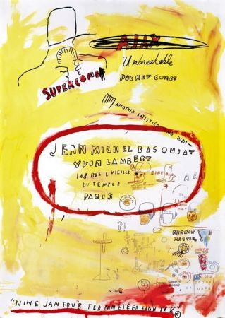 Litografia Basquiat - Untitled