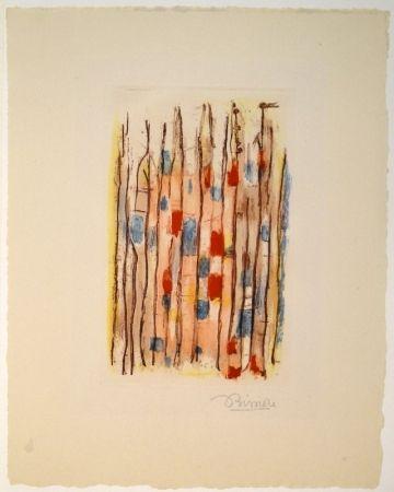 Acquatinta Bissiere - Untitled