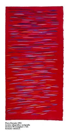 Serigrafia Dorazio - Untitled