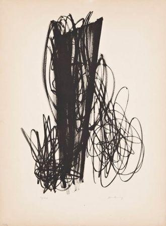 Litografia Hartung - Untitled