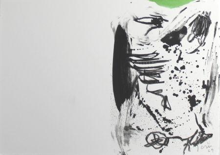 Litografia Jorn - Untitled