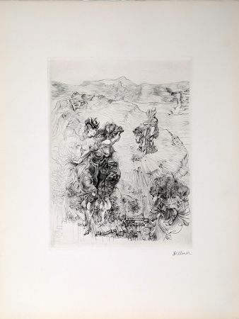 Incisione Bellmer - Untitled