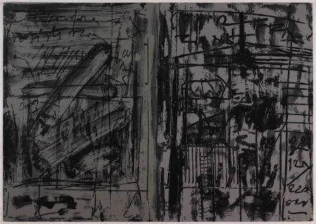 Litografia Vedova - Untitled