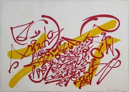 Litografia Falkenstein - Untitled