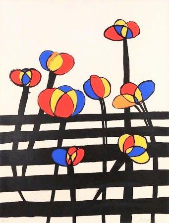 Litografia Calder - Untitled