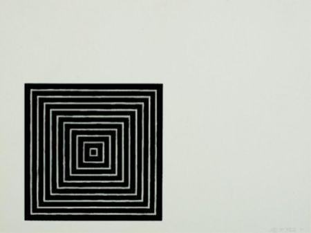 Litografia Stella - Untitled