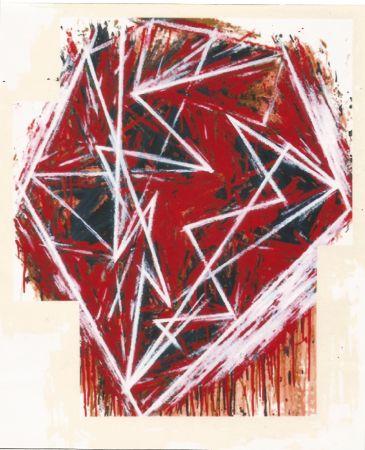Serigrafia Bochner - Untitled