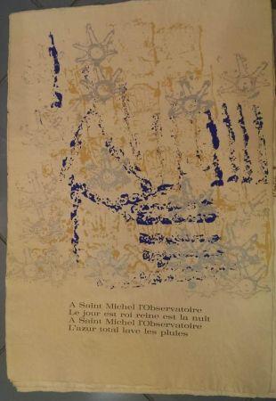 Litografia Arman - UNTITLED