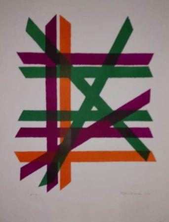 Litografia Dorazio - UNTITLED