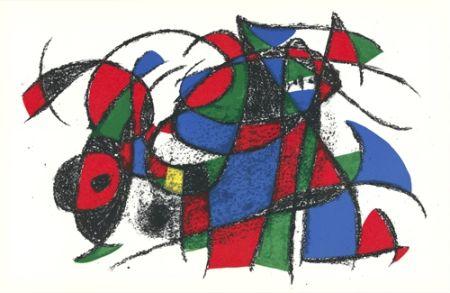 Litografia Miró - Untitled