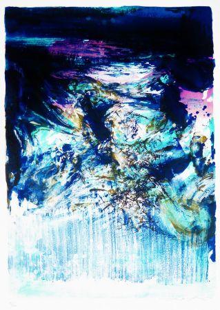 Litografia Zao - Untitled