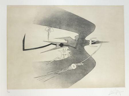 Acquaforte E Acquatinta Lam - Untitled