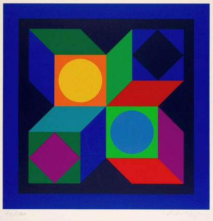 Multiplo Vasarely - Untitled