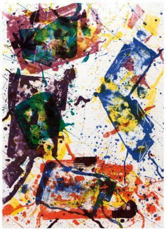 Litografia Francis - Untitled 1982