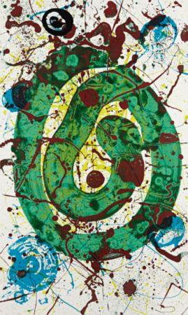 Serigrafia Francis - Untitled 1990