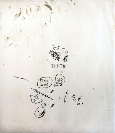 Serigrafia Basquiat - Untitled 3 (from Leonardo)