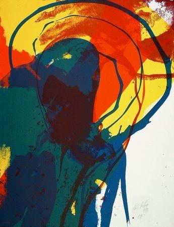 Litografia Jenkins - Untitled abstraction