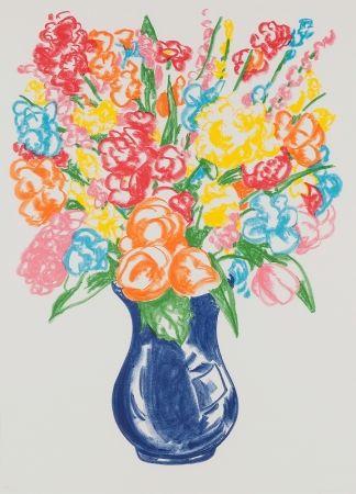 Serigrafia Koons - Untitled (Flowers)