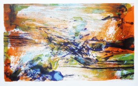 Litografia Zao - Untitled (from: A la gloire de l'image)