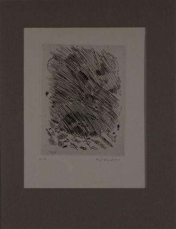 Acquaforte Turcato - Untitled from 'Avanguardia internazionale', vol. 4