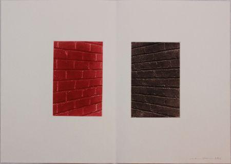 Acquaforte E Acquatinta Gibson - Untitled from 'Metafora' portfolio