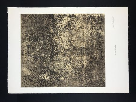 Litografia Dubuffet - Untitled from phénomenes portfolio