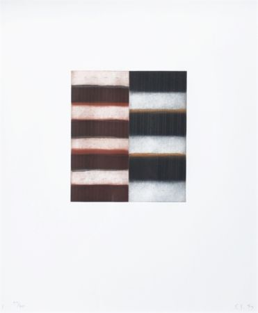 Acquaforte E Acquatinta Scully - Untitled (from Seven Mirrors)