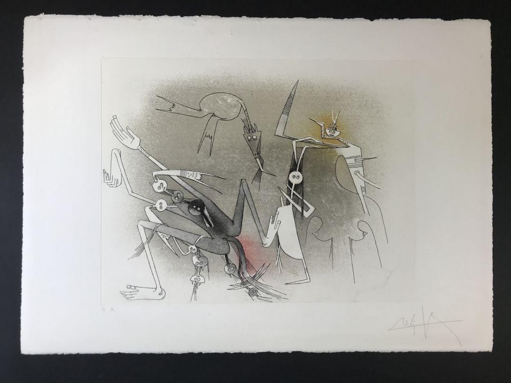 Acquaforte E Acquatinta Lam - Untitled from ''Visible invisible folder''