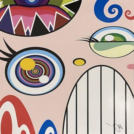 Litografia Murakami - Untitled I from We Are the Square Jocular Clan