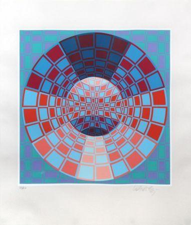 Serigrafia Vasarely - Untitled II