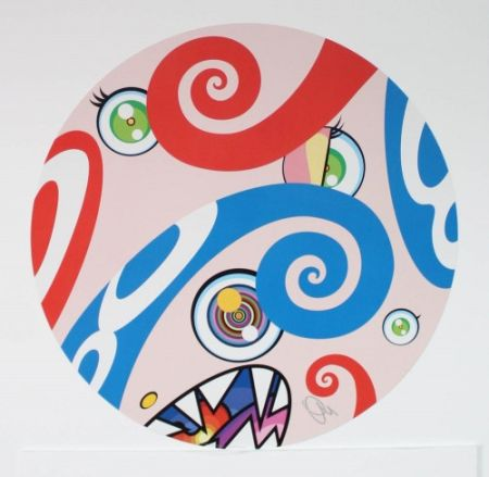 Litografia Murakami - Untitled III from We Are the Jocular Clan,