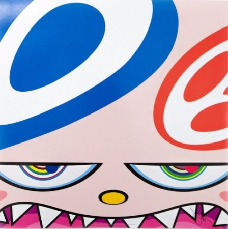Litografia Murakami - Untitled III from We Are the Square Jocular Clan,
