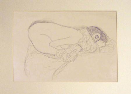 Litografia Klimt - Untitled I.III