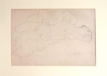 Litografia Klimt - Untitled I.IV