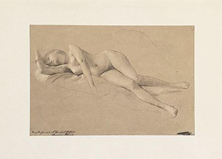 Litografia Klimt - Untitled II.XIII