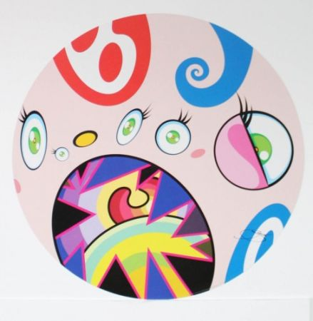 Litografia Murakami - Untitled IV from We Are the Jocular Clan