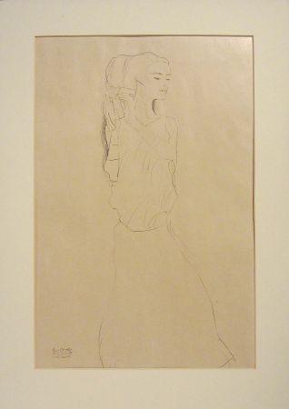 Litografia Klimt - Untitled I.VI