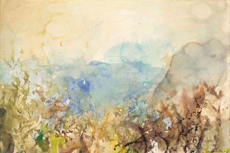 Non Tecnico Zao - Untitled Landscape 1985