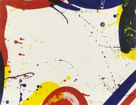 Litografia Francis - Untitled (SF-61) (from Portfolio 9)