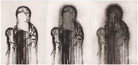Incisione Plensa - Untitled (Triptych)