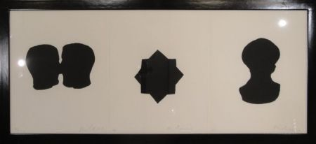 Incisione Blais - Untitled triptych