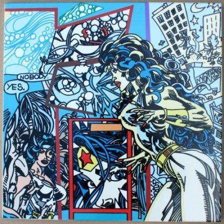 Serigrafia Erro - Urban Chaos