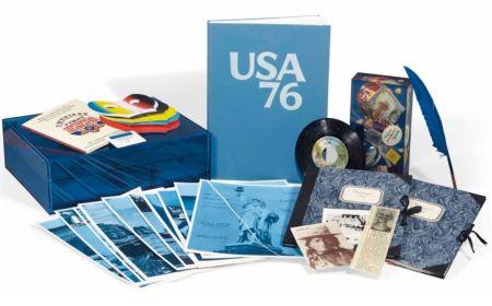 Libro Illustrato Monory - USA 76. Bicentenaire Kit.