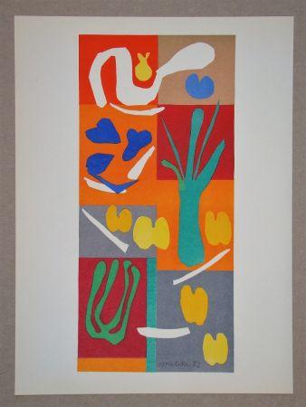 Litografia Matisse (After) - Végétaux - 1952