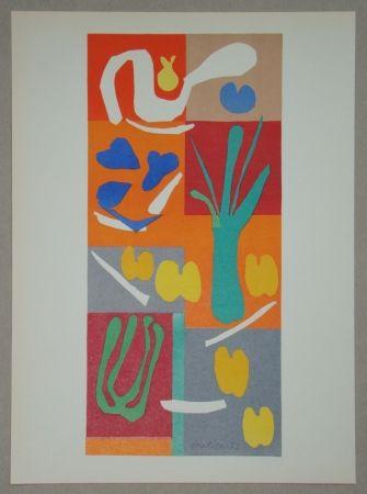 Litografia Matisse - Végétaux, 1952