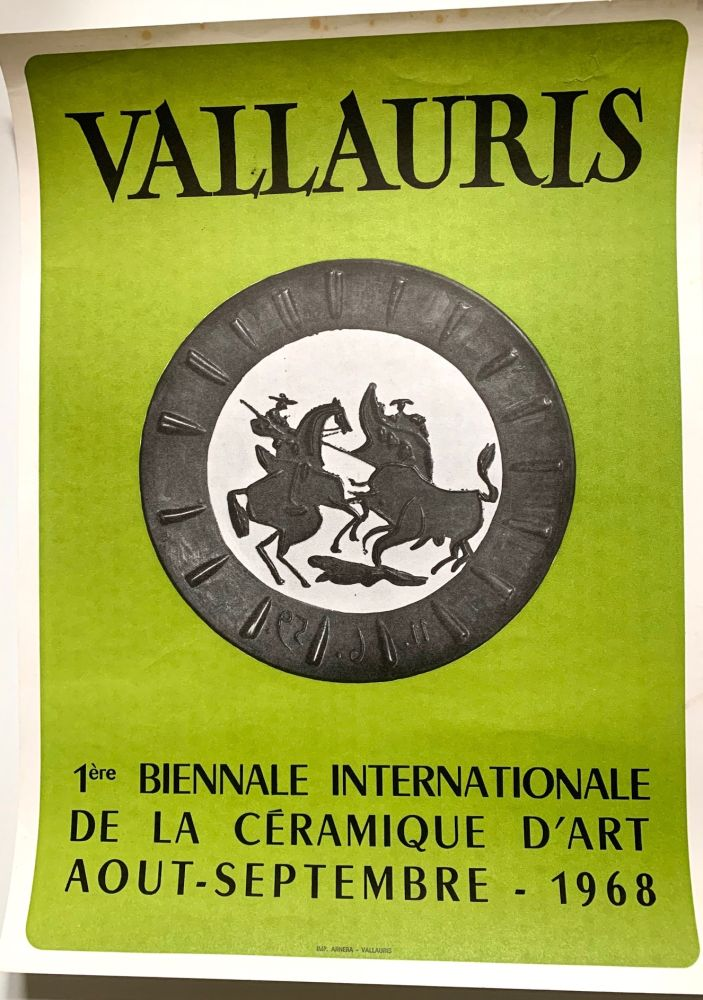 Non Tecnico Picasso - Vallauris - Typographical print
