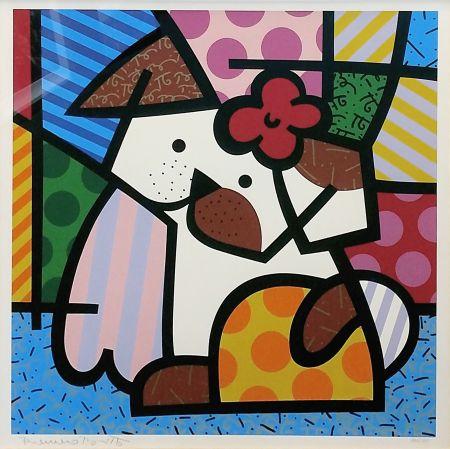Serigrafia Britto - VALLEY DOG